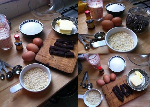 Ingredientes Brownie