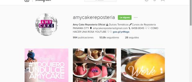 Cursos y experiencias de Amy Cake Repostería