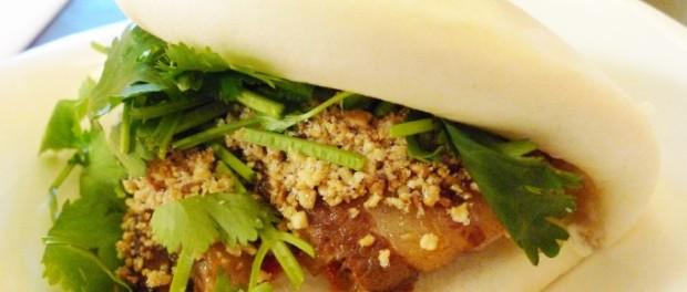 Bao, un bocadillo gourmet.