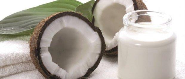 Receta de leche de coco.